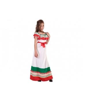 Costum carnaval fete mexicanca