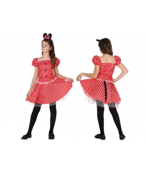 Costum carnaval fete Minnie cu codita