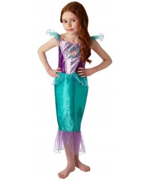 Costum carnaval fete Sirena Ariel cu mov