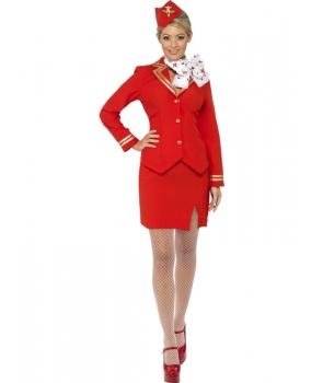 Costum carnaval fete Stewardesa