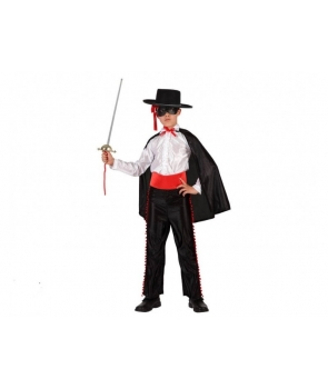 Costum carnaval baieti Zorro cu masca