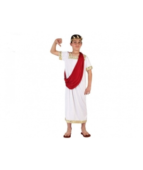 Costum carnaval baieti Imparat Roman , Zeu