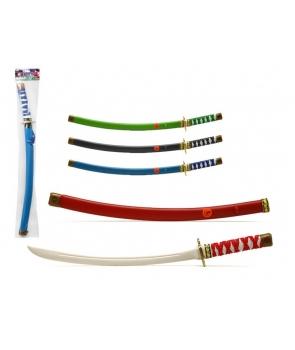 Sabie ninja, katana colorata