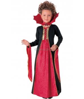 Costum Halloween fete vampirita cu guler