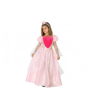 Costum carnaval fete Printesa Aurora roz