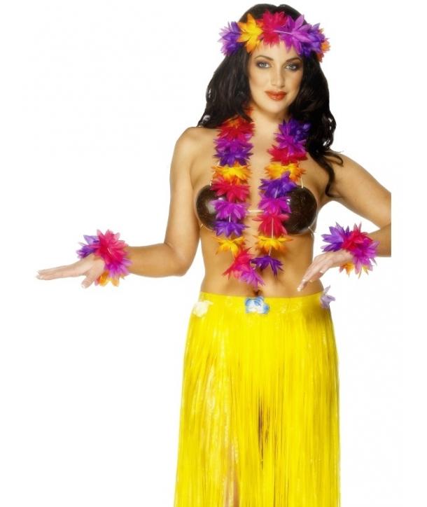 Set Hawaii multicolor