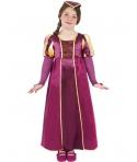 Costum carnaval fete Printesa Medievala model 1