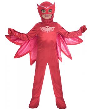 Costum carnaval copii Bufnita Eroi in Pijamale