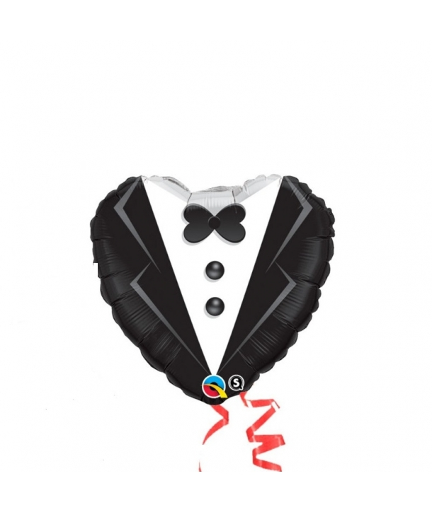 Balon folie Mire cu papion
