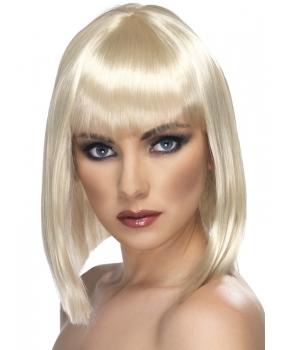 Peruca petrecere Glam blonda