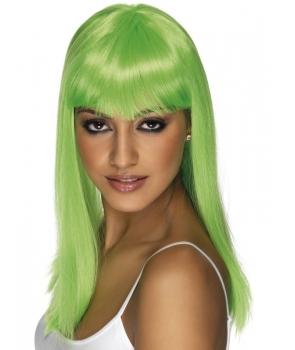 Peruca petrecere glamourama verde