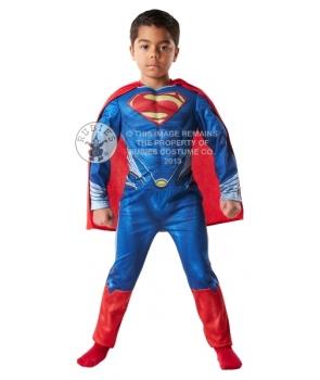 Costum carnaval baieti Superman De Luxe