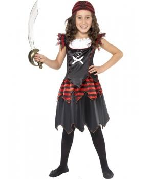 Costum carnaval fete pirata