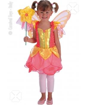 Costum carnaval fete Zana roz
