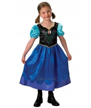 Costum carnaval fete Anna Frozen