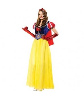 Costum carnaval adulti Alba ca Zapada - lunga