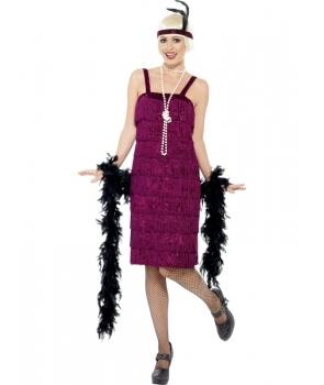 Costum carnaval femei anii '20 - mov