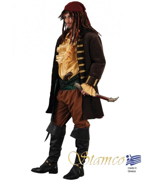 Costum carnaval barbati Pirat de lux