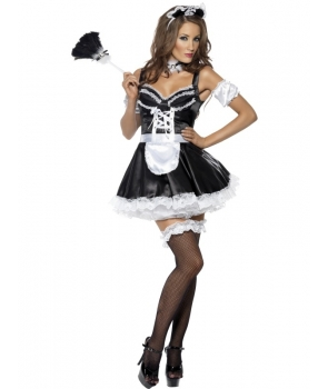 Costum carnaval femei menajera