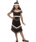 Costum carnaval fete indianca maro