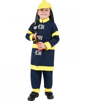 Costum carnaval baieti Pompier model 1