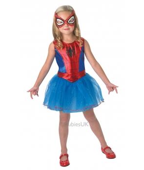 Costum carnaval Spidergirl cu licenta