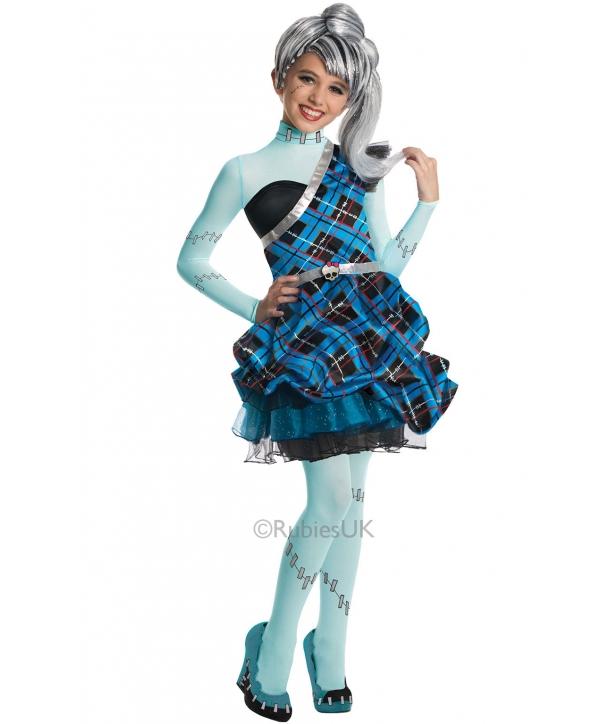 Costum carnaval copii Monster High Frankie Stein
