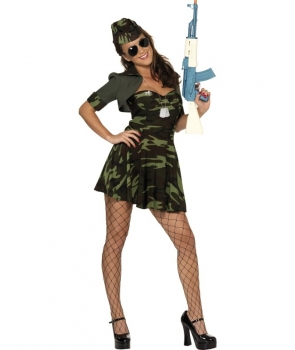 Costum carnaval Army girl