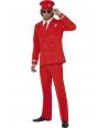 Costum carnaval Aviator rosu