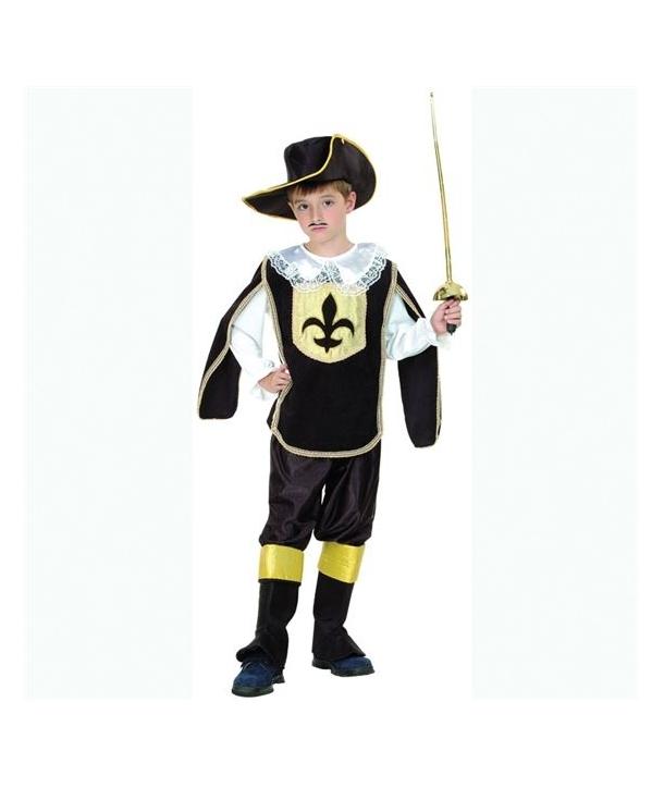 Costum carnaval copii muschetar model 2