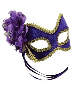 Masca carnaval mov
