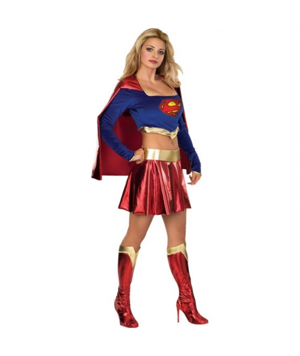 Costum carnaval femei Superwomen