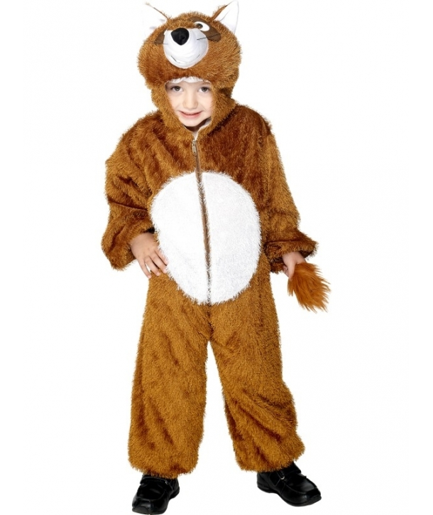 Costum carnaval copii animale vulpe