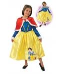 Costum carnaval fete Alba ca Zapada pelerina