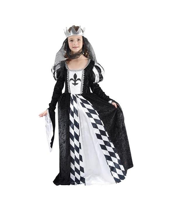 Costum carnaval fete Regina Neagra