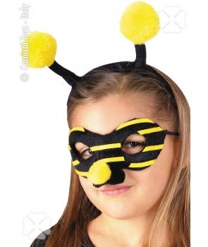 Set albina masca si antene