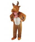 Costum Craciun mascota ren