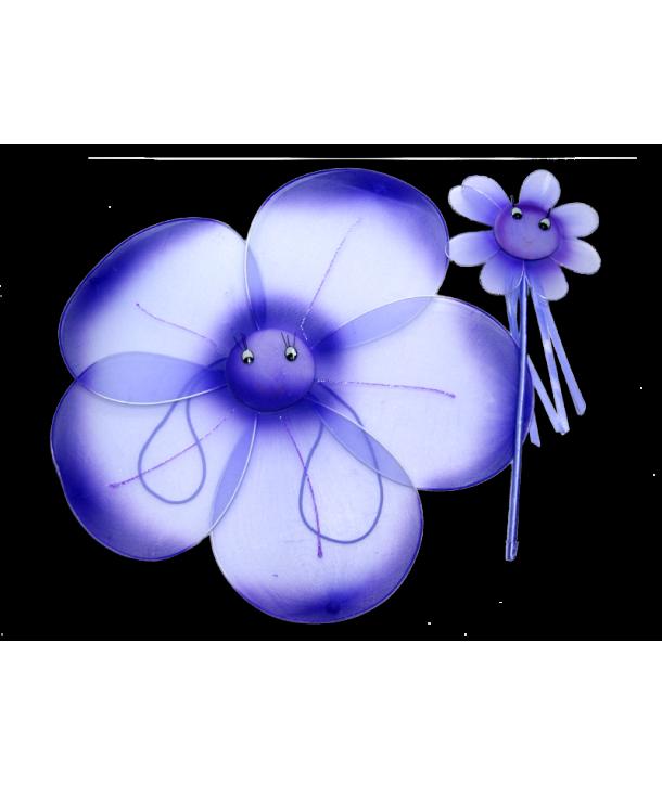 Set floare mov