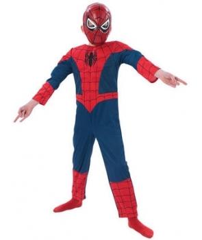Costum carnaval baieti Spiderman de lux