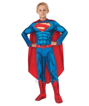 Costum carnaval baieti Superman nou