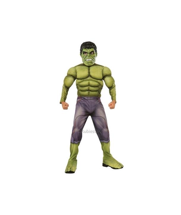 Costum carnaval baieti Hulk de lux