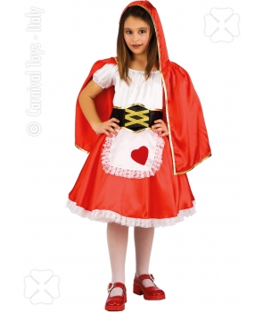 Costum carnaval fete Scufita Rosie model 2