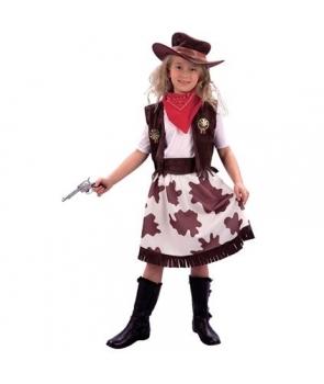 Costum carnaval fete cowgirl maro