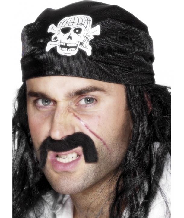 Bandana pirat neagra