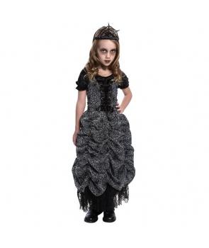 Costum Halloween fete printesa paianjen