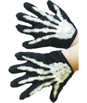Manusi Halloween schelet copii