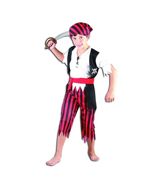 Costum carnaval baieti piratul Jim