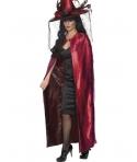 Pelerina Halloween reversibila rosu - negru