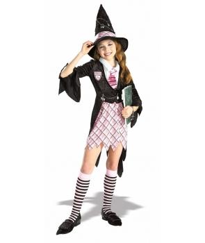 Costum Halloween fete vrajitoarea scolii