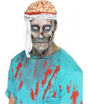 Palarie halloween creier bandajat